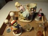 Lot of Figurines, Fenton Girl, Shefford Bells