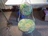 Metal Frame Garden Chair