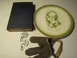Lot of 5, Metal Working and Enameling Book, Décor Plate