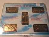 Hamilton Mint America the Beautiful, 999 Silver, 24K, in Case