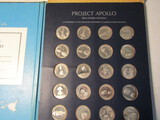 Franklin Mint Project Apollo Limited Edition Solid Sterling Silver