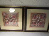 Lot of 2 Ruth Franks Framed Art
