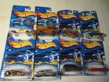 Lot of 8 HotWheels Cars in Original Packages