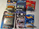 Lot of 6 HotWheels, Muscle Machine, in Original Packages