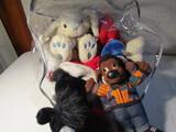 Lot of Stuffed Animals, Bunnies, Ponies, Bears