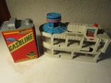 Lot of 2 Micro Machine Secret Gas Can, World Parking Garage