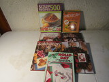 Lot of Cooking Books, Leisure Arts