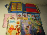Lot of 10 Story Reader, Disney, Books, Reader, Cassettes, Case