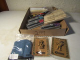 Lot of Kitchen Ware Décor, Pampered Chef, Melon Scoop, Clothes Pins