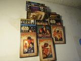 Lot of 15 VHS and DVD Movies, Star Wars, Indiana Jones