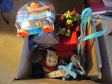 Lot of Toys, Water Sprinkler, Buzz Lightyear, Dry Eraser Board