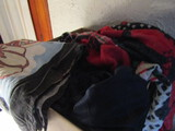 Large Lot of Assorted Blankets and Towels, in Good Condition