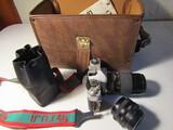 Fujica STX 1 Camera with extra Lens and Case
