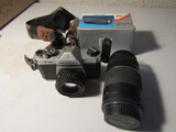 Pentax Camera with 2 extra Lens-Canon and Focal
