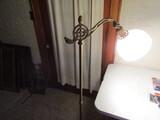 Vintage Mid Century Electric Lamp, works