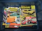 Large Lot of Hot Rod Magazines, Cruisin Times and Rodding