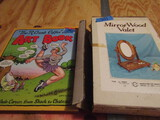 Lot of 2, The Art Book and Mirror Wood Valet set in Original Box
