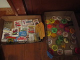 Lot of Collectible Car Hot Rod Patches, Buttons