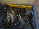 Lot of Tools, Hammers, Level, Work Light