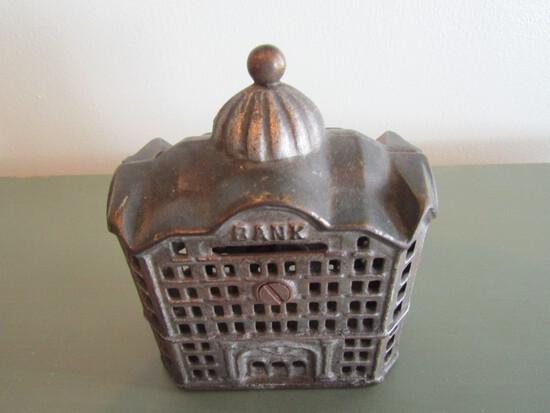 Vintage Cast Iron Bank