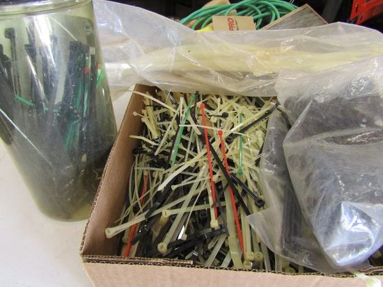 Large Lot of New Zip Ties