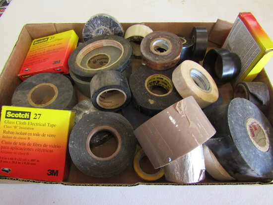 Lot of Tape, Mostly Electrical Tape