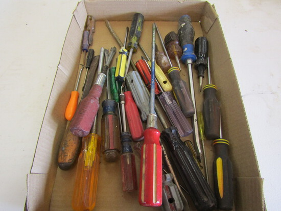 Lot of Screwdrivers, Variety