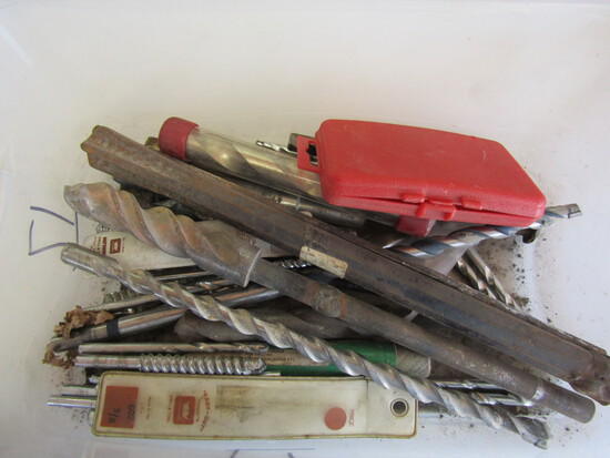 Lot of Cement Drill Bits