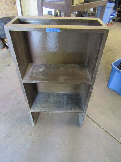 Wood Shelf Unit