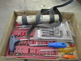 Lot of Tools, Drivers, Star Wrenches, Level