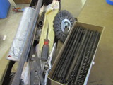 Lot of Springs and Wire Wheel