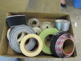 Lot of Rolls of Tape and Velcro