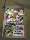 Lot of Vintage Auto Stickers