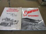 Lot of 2 Vintage Books, Sharon Speedway 1931-80, Canfield Speedway 1946-73