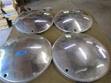 Lot of 4 Chrome Solid Wheel Covers