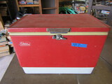 Vintage Coleman Metal Ice Chest