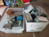 Electrical Work Boxes, Various Types