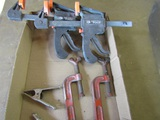 Lot of 6, Clamps, 2-Central Forge
