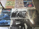 Lot of 7, Auto Pictures/Posters, Winston