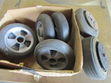 Lot of 6 , Wheels, 2-with Gear