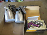 Lot of 3 Paint Guns, Professional K-3 in Box