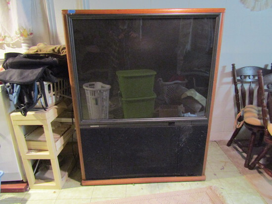 "Magnavox TV in Stand 47"" x 61"" tall"