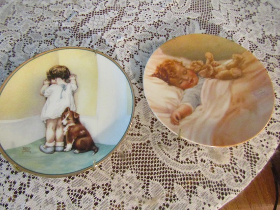 "Lot of 2 Bessie Pease Gutmann, ""In Disgrace"" and ""Happy Dreams"""