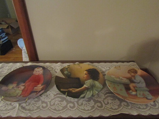 "Lot of 3 Bessie Pease Gutmann, ""Waiting for Daddy"", ""Harmony"", Thank you God"""