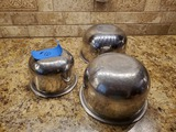 Set of 3 Vollrath Stainless Steel Bowls