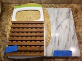 Large Granite Cutting Board and Other Kitchen Items