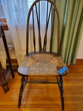 Antique Wicker Seated Chair