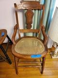 Antique Ratan Chair, Good Condition
