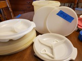Lot of Tupperware with Lids