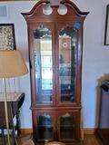 Curio Cabinet Cherry Wood